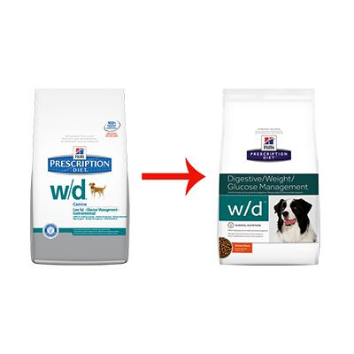 Image for w/d Canine Low Fat