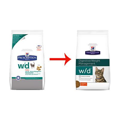 Image for w/d Feline Low Fat
